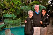 Susan Cappi, Hamish White and Conchetta Bruce