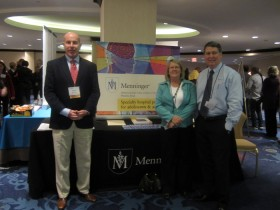 Michael Gillis, Lifeskills South Florida, Sally Zahner and Jim Flack, MD of the Menninger Clinic