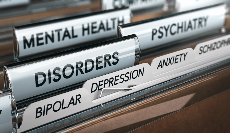 File with a list of psychiatric disorders.