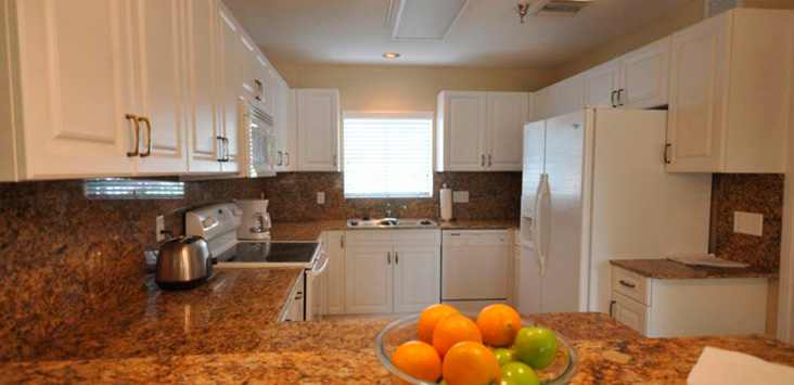 Residential kitchen at Lifeskills South Florida